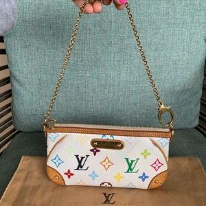 Loui Vuitton Multicolore Milla pochette